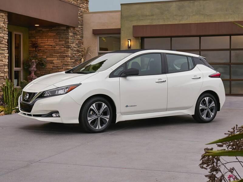 2021 Nissan LEAF for sale at Ken Ganley Nissan in Medina OH