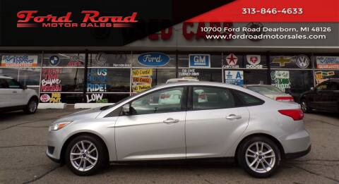 2015 Ford Focus for sale at Ford Road Motor Sales in Dearborn MI