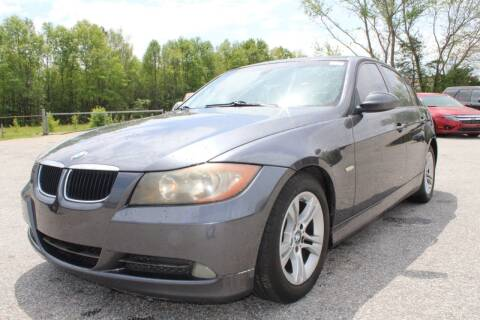 2008 BMW 3 Series for sale at UpCountry Motors in Taylors SC