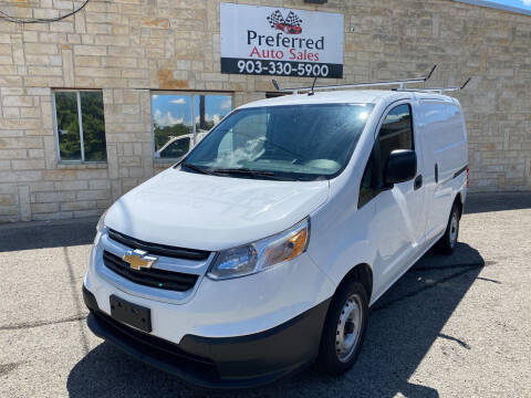 2017 Chevrolet City Express Cargo for sale at Preferred Auto Sales in Tyler TX