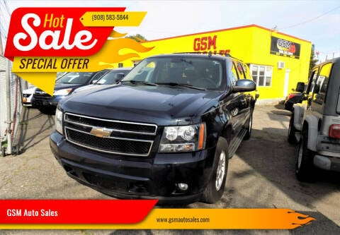 2009 Chevrolet Suburban for sale at GSM Auto Sales in Linden NJ