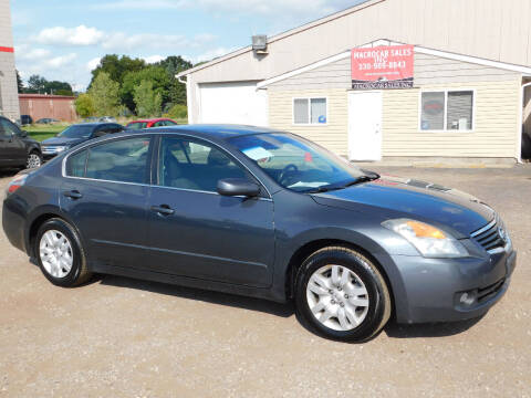 2009 Nissan Altima for sale at Macrocar Sales Inc in Akron OH