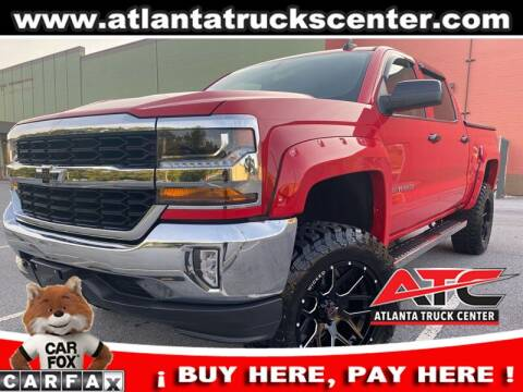 2018 Chevrolet Silverado 1500 for sale at ATLANTA TRUCK CENTER LLC in Brookhaven GA