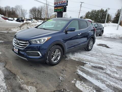 2018 Hyundai Santa Fe Sport for sale at Excellent Autos in Amsterdam NY