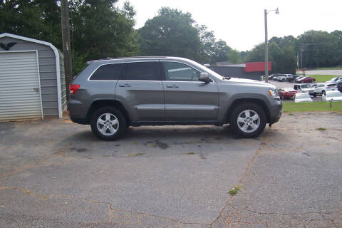 2012 Jeep Grand Cherokee for sale at Blackwood's Auto Sales in Union SC