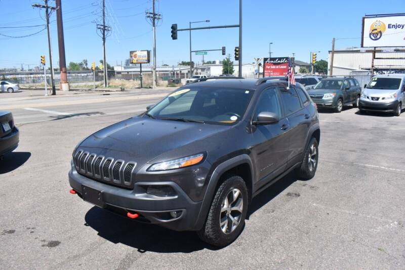 2014 Jeep Cherokee for sale at Good Deal Auto Sales LLC in Denver CO