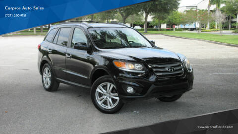 2012 Hyundai Santa Fe for sale at Carpros Auto Sales in Largo FL
