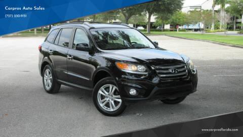 2012 Hyundai Santa Fe for sale at Carpros Auto Sales in Largo FL