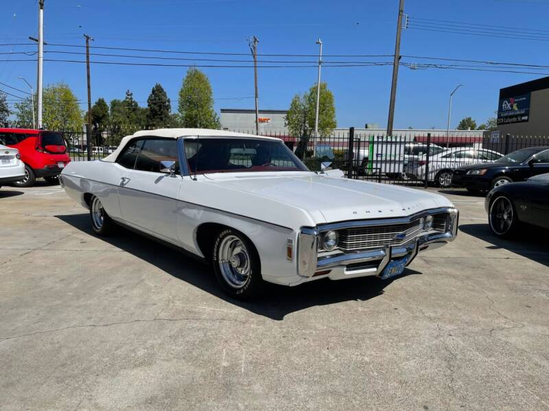 1969 Chevrolet Impala for sale at Pro Auto Showroom in Milpitas CA