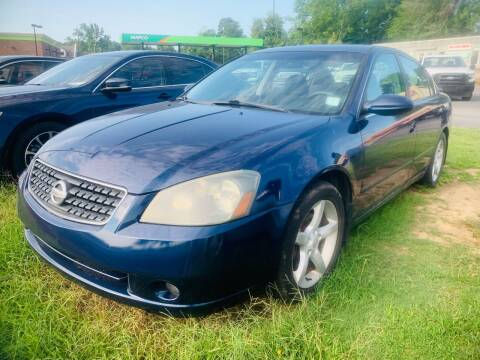 2006 Nissan Altima for sale at BRYANT AUTO SALES in Bryant AR
