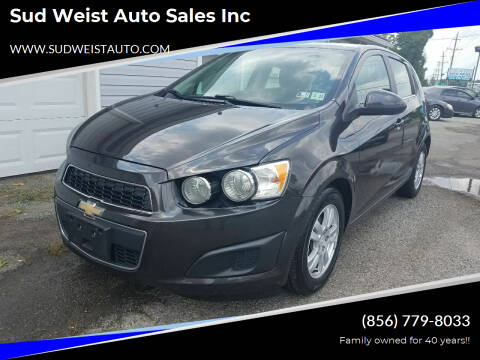 2016 Chevrolet Sonic for sale at Sud Weist Auto Sales Inc in Maple Shade NJ