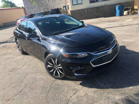 2017 Chevrolet Malibu for sale at Some Auto Sales in Hammond IN