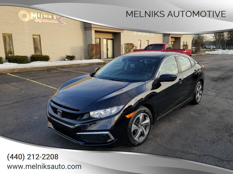 2020 Honda Civic for sale at Melniks Automotive in Berea OH