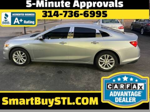 2016 Chevrolet Malibu for sale at Smart Buy Car Sales in St. Louis MO