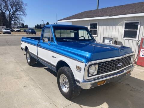 1971 Chevrolet C/K 10 Series for sale at B & B Auto Sales in Brookings SD