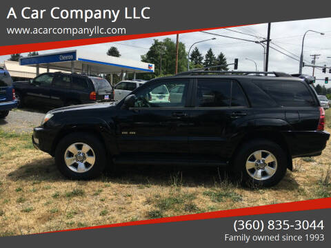 2005 Toyota 4Runner for sale at A Car Company LLC in Washougal WA