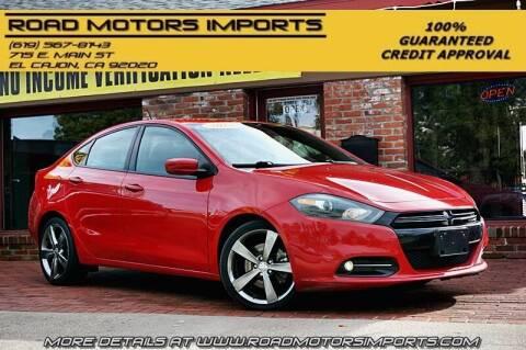 2013 Dodge Dart for sale at Road Motors Imports in El Cajon CA