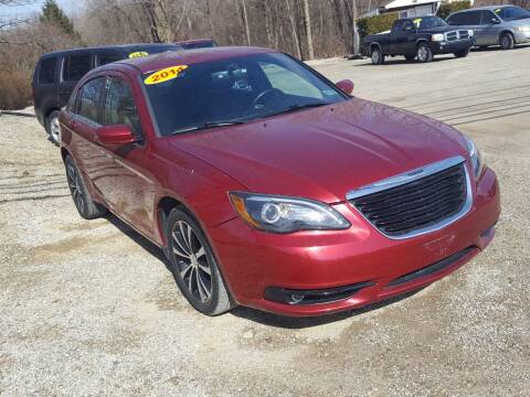 2014 Chrysler 200 for sale at Jack Cooney's Auto Sales in Erie PA