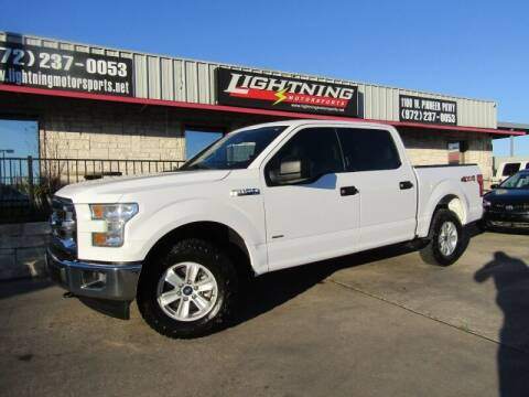 2017 Ford F-150 for sale at Lightning Motorsports in Grand Prairie TX