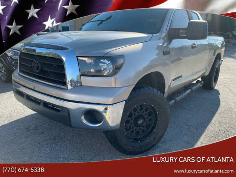 2007 Toyota Tundra for sale at Luxury Cars of Atlanta in Snellville GA