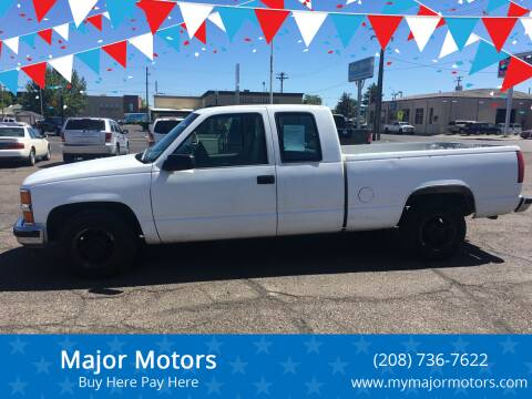1997 Chevrolet C/K 1500 Series for sale at Major Motors in Twin Falls ID