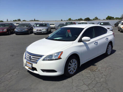 2014 Nissan Sentra for sale at My Three Sons Auto Sales in Sacramento CA