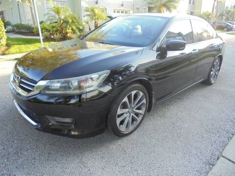 2014 Honda Accord for sale at Automax Wholesale Group LLC in Tampa FL