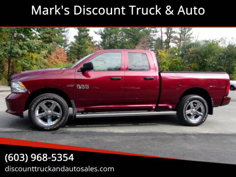 2017 RAM Ram Pickup 1500 for sale at Mark's Discount Truck & Auto in Londonderry NH