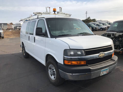 2012 Chevrolet Express Cargo for sale at CARGO VAN GO.COM in Shakopee MN