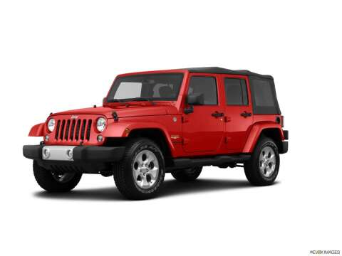 2014 Jeep Wrangler Unlimited for sale at Mann Chrysler Dodge Jeep of Richmond in Richmond KY