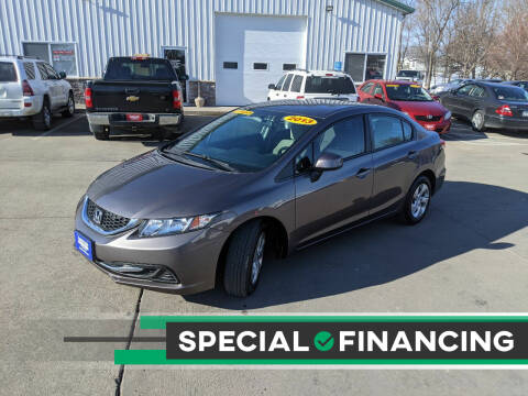 2013 Honda Civic for sale at AmericAuto in Des Moines IA