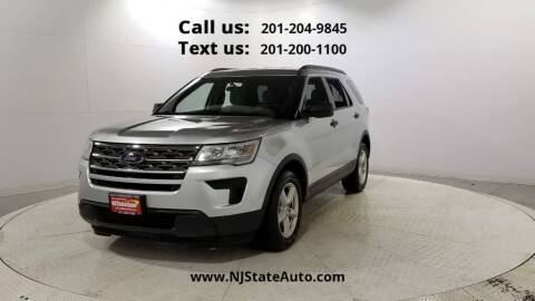 2018 Ford Explorer for sale at NJ State Auto Used Cars in Jersey City NJ