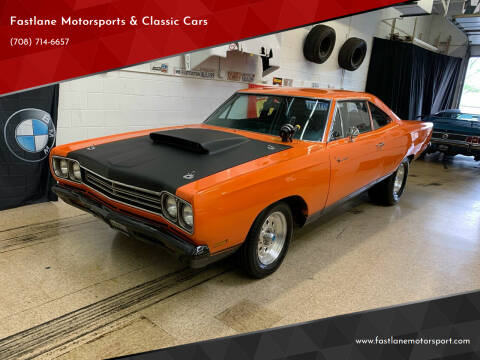 1969 Plymouth Roadrunner for sale at Fastlane Motorsports & Classic Cars in Addison IL