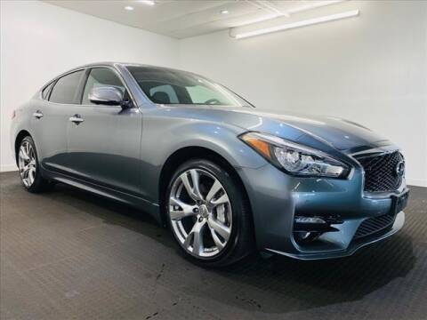 2017 Infiniti Q70 for sale at Champagne Motor Car Company in Willimantic CT