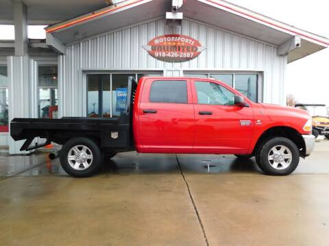 2012 RAM Ram Pickup 2500 for sale at Motorsports Unlimited in McAlester OK