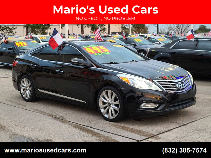 2012 Hyundai Azera for sale at Mario's Used Cars in Houston TX