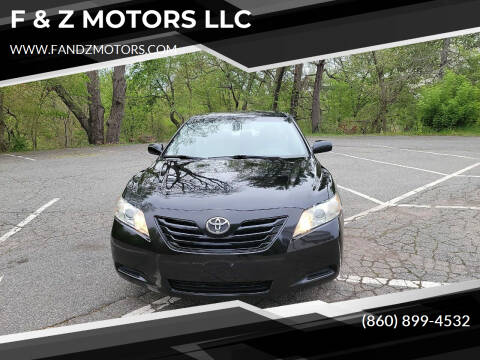 2007 Toyota Camry for sale at F & Z MOTORS LLC in Waterbury CT