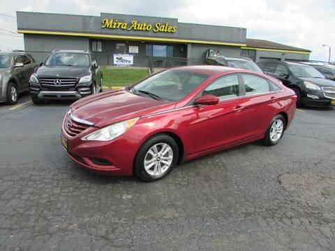 2012 Hyundai Sonata for sale at MIRA AUTO SALES in Cincinnati OH