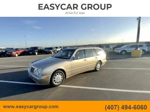 2001 Mercedes-Benz E-Class for sale at EASYCAR GROUP in Orlando FL