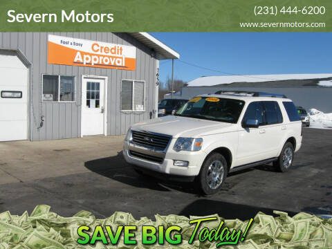 2009 Ford Explorer for sale at Severn Motors in Cadillac MI