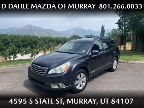 2010 Subaru Outback for sale at D DAHLE MAZDA OF MURRAY in Salt Lake City UT
