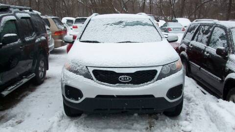 2013 Kia Sorento for sale at Griffon Auto Sales Inc in Lakemoor IL