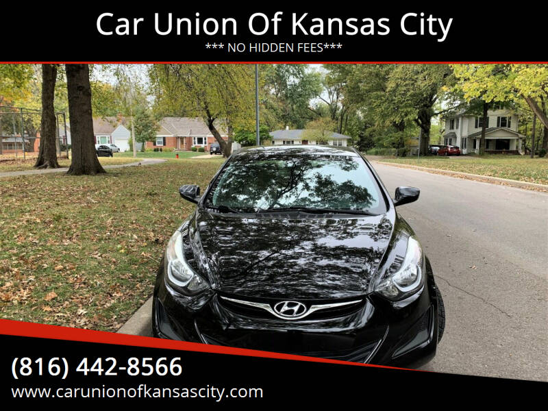 2014 Hyundai Elantra for sale at Car Union Of Kansas City in Kansas City MO