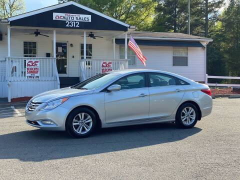 2013 Hyundai Sonata for sale at CVC AUTO SALES in Durham NC