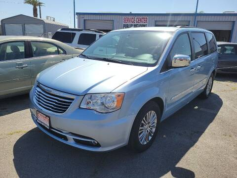 2013 Chrysler Town and Country for sale at Primo Auto Sales in Merced CA