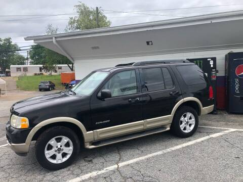 2005 Ford Explorer for sale at Rick's Cycle in Valdese NC