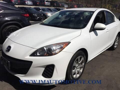 2013 Mazda MAZDA3 for sale at J & M Automotive in Naugatuck CT