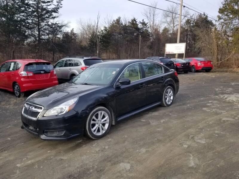 2013 Subaru Legacy for sale at B & B GARAGE LLC in Catskill NY