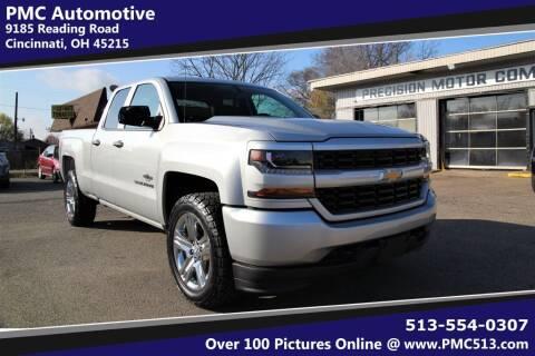 2017 Chevrolet Silverado 1500 for sale at PMC Automotive in Cincinnati OH