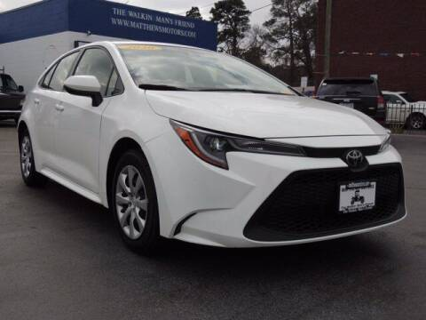 2020 Toyota Corolla for sale at Auto Finance of Raleigh in Raleigh NC